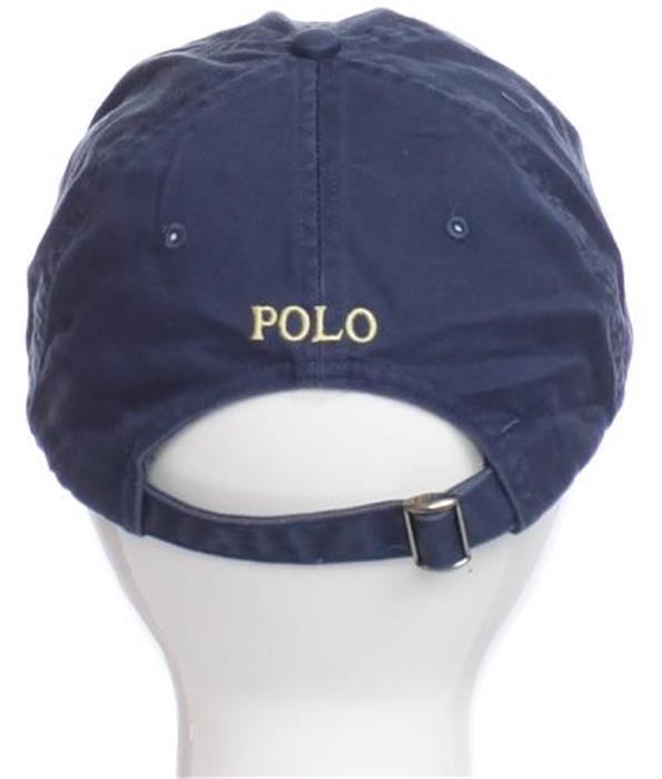 ... POLO RALPH LAUREN Mens Vintage Baseball Cap Hat Blue Logo Designer Adult Fashion